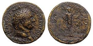 Titus (79-81). Æ Sestertius, about 19the ...