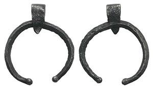 Greek Silver Pendant, c. 5th-4th century BC ...