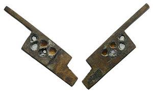 Roman Bronze Bolt Key, c. 1st-3rd century AD ...