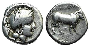 Southern Campania, Nola, c. 400-385 BC. AR ...