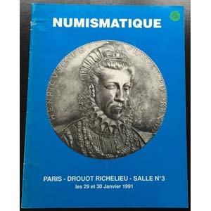 Bourgey M.E. Numismatique Salle No. 3.  ...