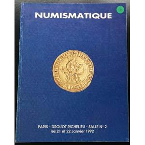Bourgey M.E. Numismatique Salle No. 2.  ...