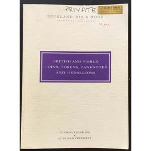 Buckland Dix & wood. Auction No. 1. Auction ...