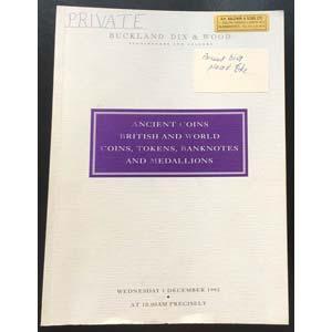 Buckland Dix & wood. Auction No. 3. Auction ...
