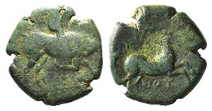 Northern Apulia, Arpi, c. 275-250 BC. Æ ...