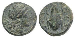 Northern Apulia, Luceria, c. 211-200 BC. Æ ...