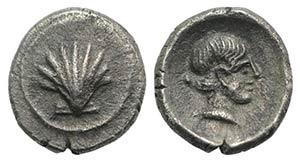 Southern Apulia, Tarentum, c. 470-450 BC. AR ...