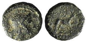 Anonymous, Rome, c. 234-231 BC. Æ (11mm, ...