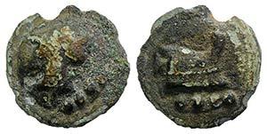 Anonymous, Rome, 225-217 BC. Cast Æ Triens ...