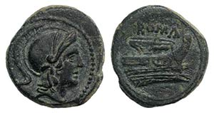Anonymous, Rome, c. 217-215 BC. Æ ...