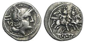 Anonymous, Rome, 211-208 BC. AR Sestertius ...