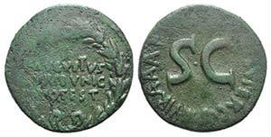 Augustus (27 BC-14 AD). Æ Dupondius (26mm, ...