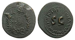 Augustus (27 BC-14 AD). Æ Dupondius (27mm, ...