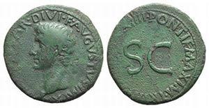 Augustus (27 BC-AD 14). Æ As (29mm, 10.49g, ...