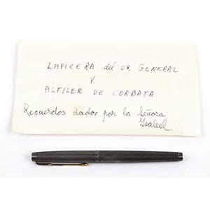 Pen owned to Juan Domingo ...