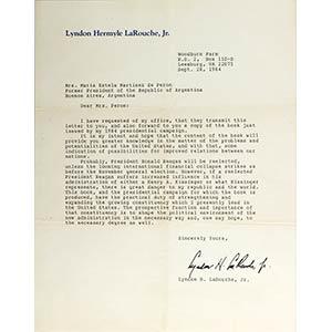 Lettere originali di uomini politici ...