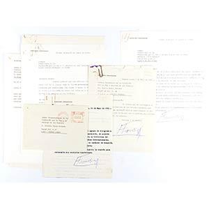 Lettere e messaggi autografi scritti da ...
