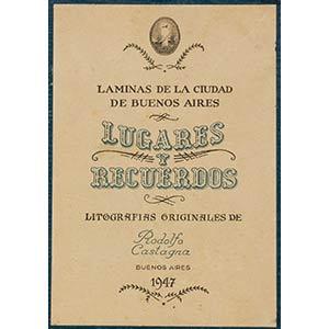 Lugares y Recuerdos, collection of twelve ...