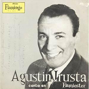 Three records with dedication:a) Agustín ...