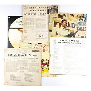 Group of 13 records:a) Conjunto de Danzas ...