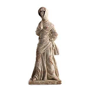 Tanagrina ammantata Magna Grecia, fine del ...