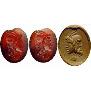 Intaglio romano in corniola. Gryllos. La ...
