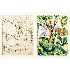 ORFEO TAMBURIJesi 1910 - Paris 1994Two trees ...