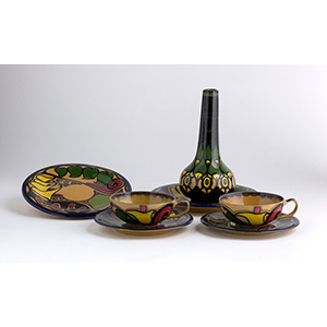 PALAZZI - ROMASet of four dishes, couple of ...