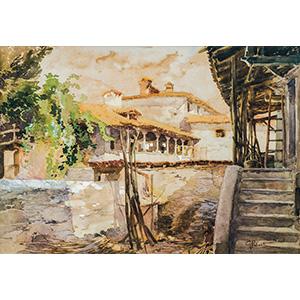 GIUSEPPE PALANTIMilan 1881 - 1946Landscape ...