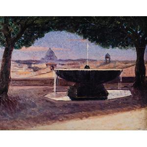 GIUSEPPE CAROSIRome 1883 - 1965 View from ...