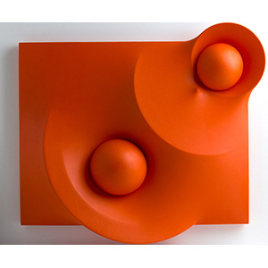 HECTOR RIGELRome 1957Orange surface 32, ...