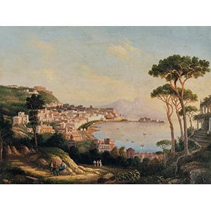 DOMENICO AMMIRATONaples 1833 - 1891Gulf of ...