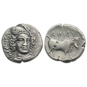 Southern Campania, Hyria, c. 405-395 BC. AR ...