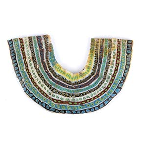 Egyptian Pectoral mosaic glass ...