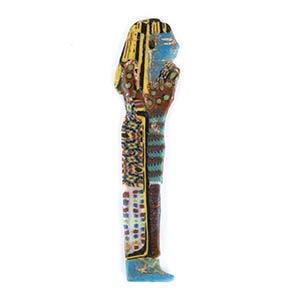 Egyptian Ushabti mosaic glass inlayPtolemaic ...