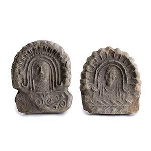 Couple of Etrusco-Campanian Antefixes5th ...