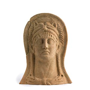 Roman Terracotta Votive Portrait of ...