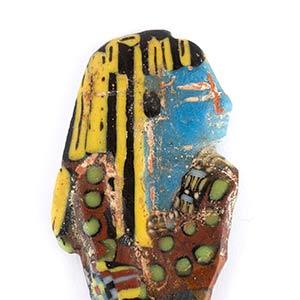 Egyptian Ushabti mosaic glass ...