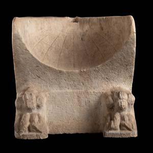 Roman Marble Sundial1st century AD; height ...