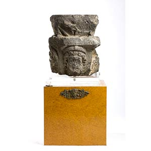 Roman Basalt Altar with Heliopolitan ...
