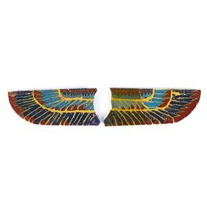 Egyptian Horus Wings mosaic glass ...