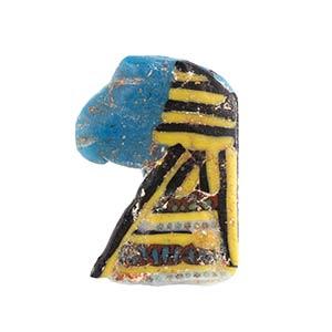 Egyptian khnum Head mosaic glass ...