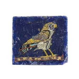 Egyptian Horus Falcon mosaic glass ...
