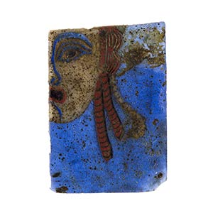 Egyptian Hetaira Half Mask mosaic glass ...