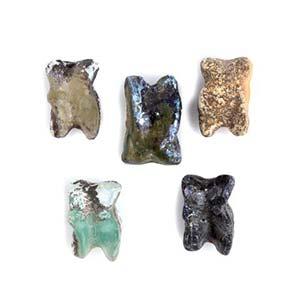 Group of five Roman glass Knucklebones1st ...