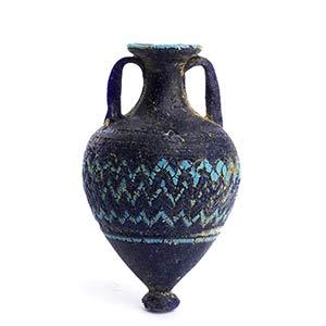 Etruscan core-formed glass Amphoriskos4th - ...