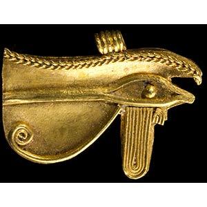 Egyptian Gold Wedjat Eye Amulet26th - 29th ...
