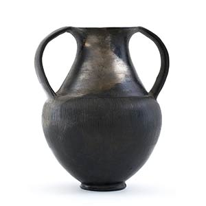 Etruscan Bucchero Amphora7th - 6th century ...
