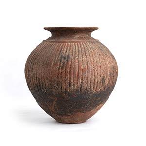 Etruscan Impasto Olla Mid 6th century BC; ...