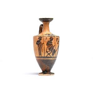 Attic Black-Figure LekythosAttributed to the ...